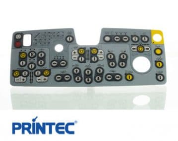 membrane switch manufacturer printec