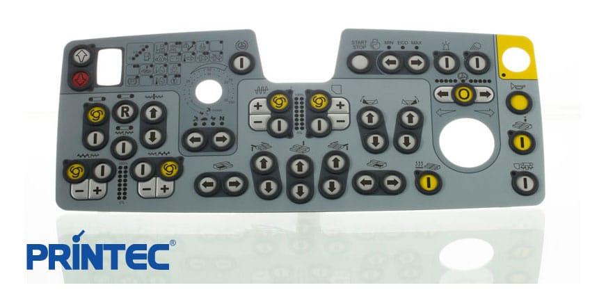 custom membrane switches